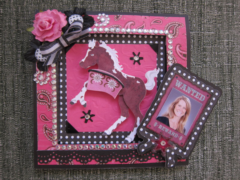 Cowgirl Birthday - Front