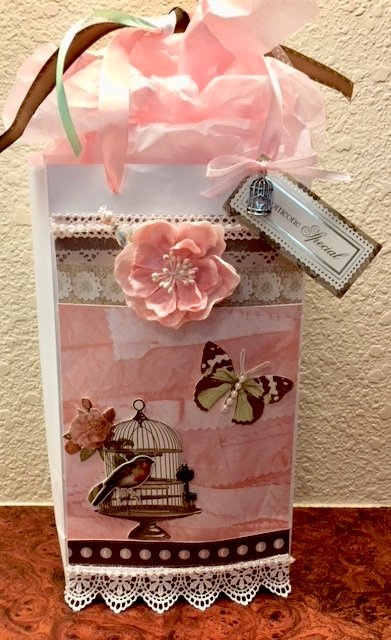 Bird and Butterfly Gift Bag