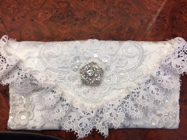 Wedding Dress Clutch Purse