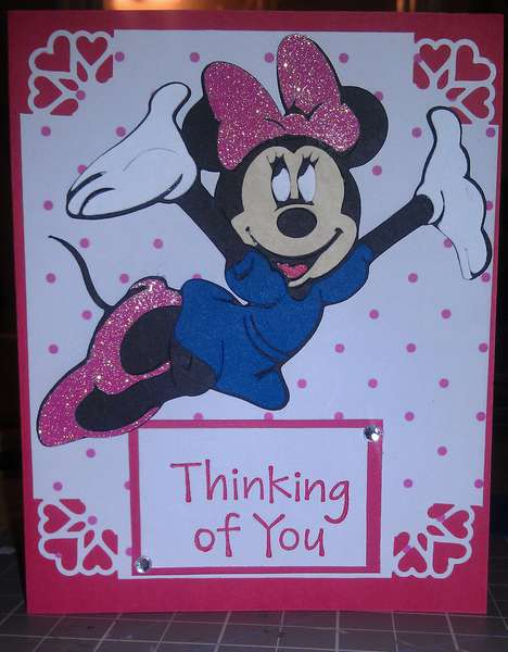 Minnie Valentine's Card