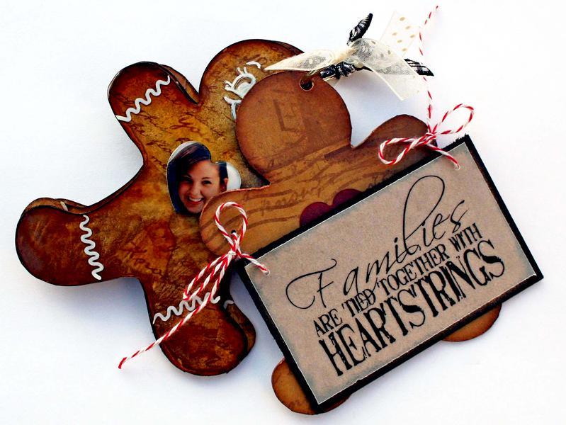 Gingerbread Man Keychain album