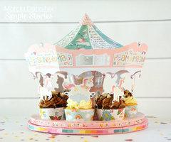 Dream Big Cupcake Carousel