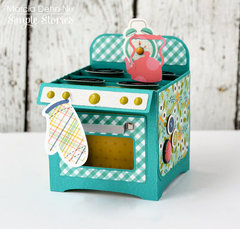 Domestic Bliss Oven Box Card