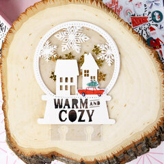 Warm And Cozy December Daily Memorydex Card