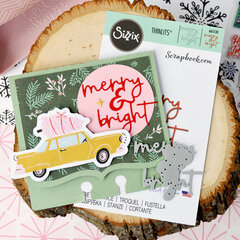 Merry & Bright Memorydex card