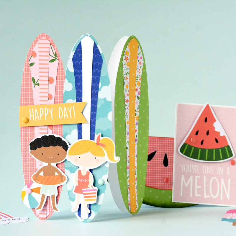 Summer Shaped Cards