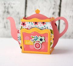 Domestic Bliss Teapot Box Card