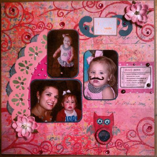 Pink Challenge - Lovely Niece