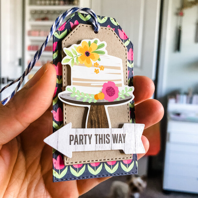 Birthday Party Tag