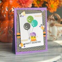 Monsters & Friends Halloween Card