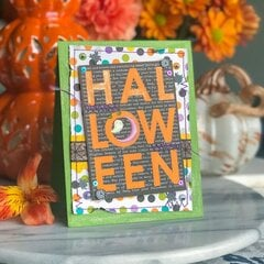 Monsters & Friends Halloween Card