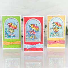 Cute Boots Card Trio