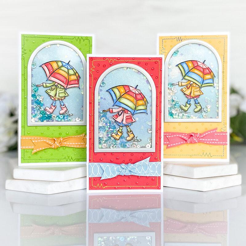 Cute Boots Card Trio