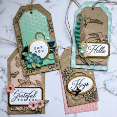 Shabby Chic Tag Set