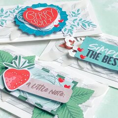 Strawberry Card Trio
