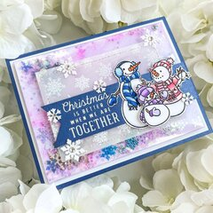 Christmas is Better Together Card