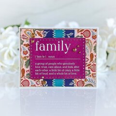 Pocket Cards to Greeting Cards: Family Edition Card 2