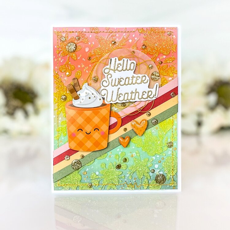 Hello Sweater Weather Card