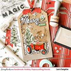Merry & Bright Shaker Tag Card