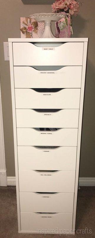 Patterned Paper Organization
