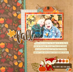 Celebrate Autumn Layout