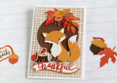 Thankful Mister Fox Card
