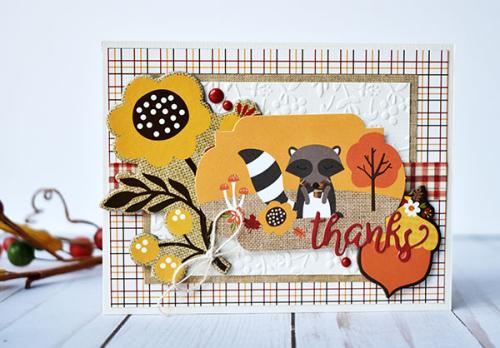 Celebrate Autumn Thank You Card