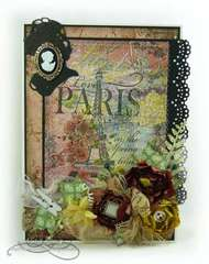 Paris in Spring time - card
