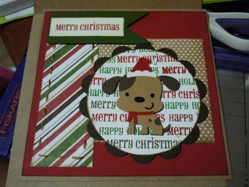 Merry christmas doggie