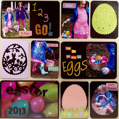 Easter Project Life Page