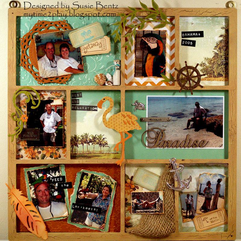 Bahamas 2005 - Paradise Photo Tray