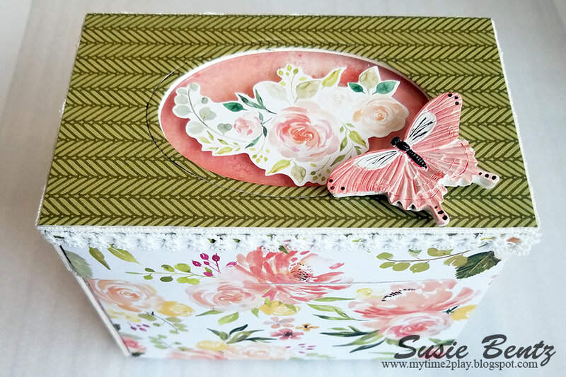 Spring FLoral Treasure Box