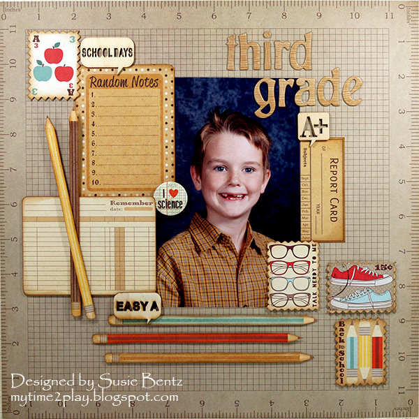 Third Grade School Layout