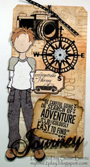 Adventure is Easy to Find! Tag  *Want2Scrap*