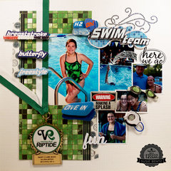Swim Team Layout