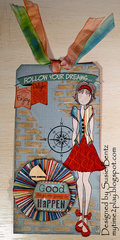 Mixed Media Tag *Want2Scrap*  *Quick Quotes*