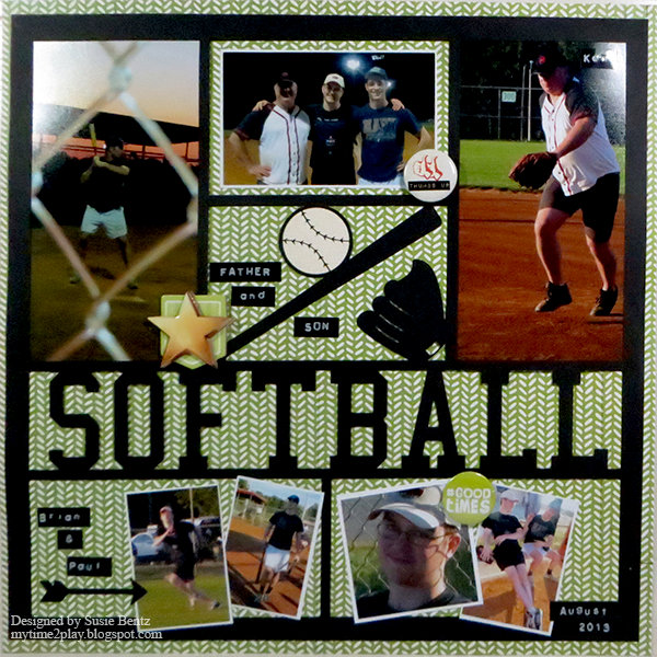 Father and Son Softball Layout