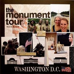 Washington DC Monument Tour *Want2Scrap*