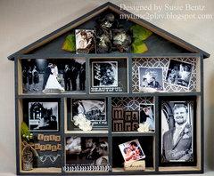 Wedding Shadow Box Display