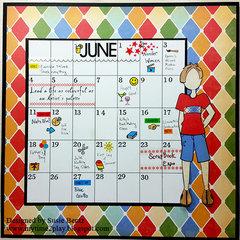 June Calendar Layout