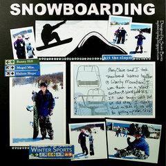 Snowboarding *Want2Scrap*
