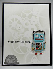 Out of this World/Robot Card
