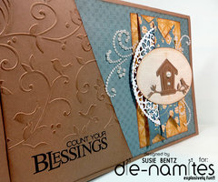Count Your Blessings Card *Dienamites*