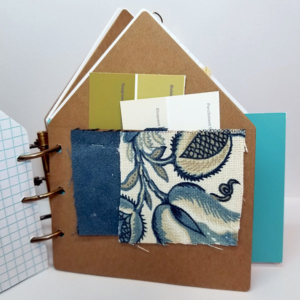 House in Hand Home Reference Mini Album