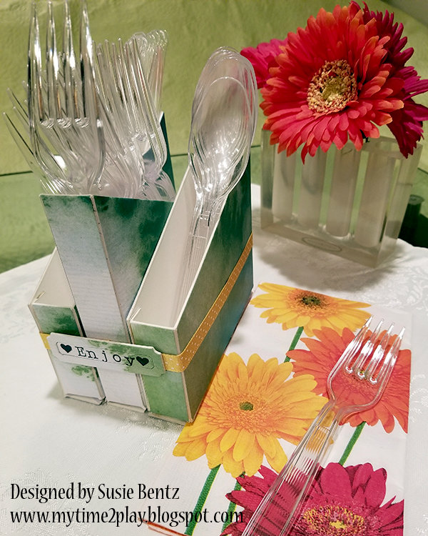 DIY Cutlery Holder