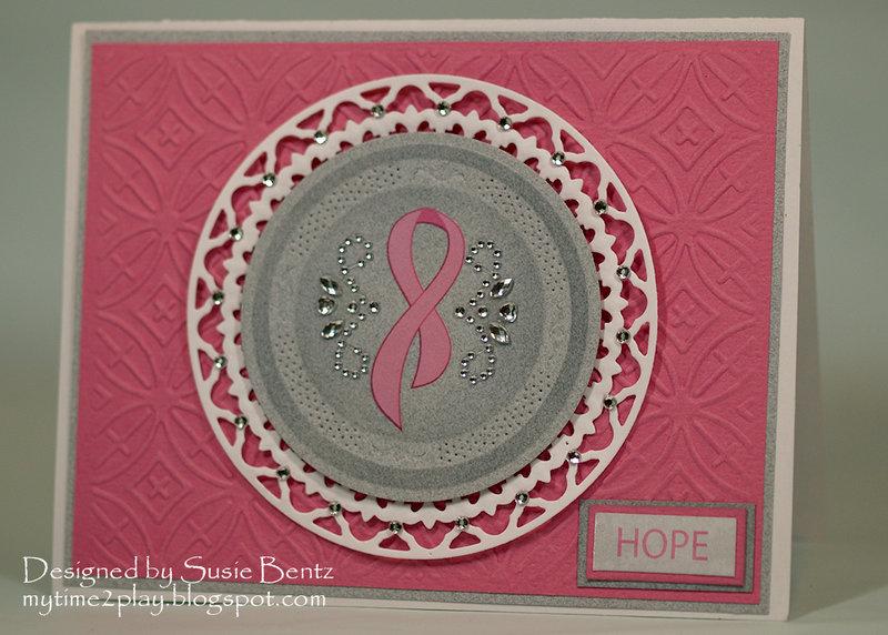 Breast Cancer Hope Card  **Moxxie**