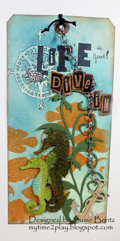 Life is Good - Dive in!  Tag