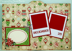 Printer's Tray Christmas Album - Page 1