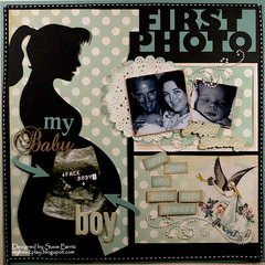 My Baby Boy: First Photo