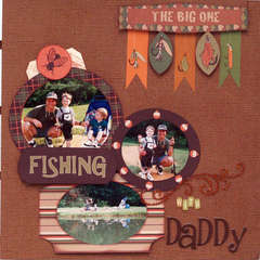 Fishing with Daddy **Moxxie**